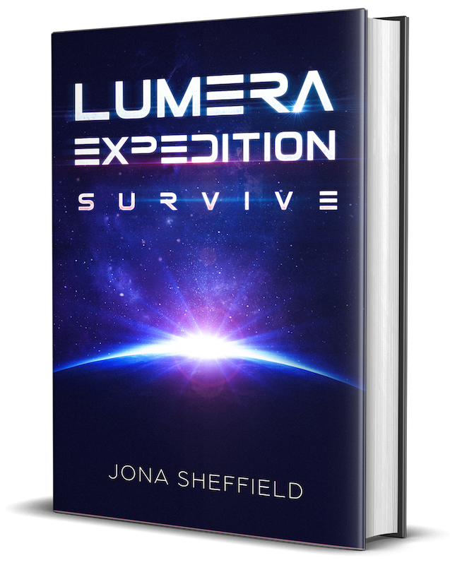 Lumera Expedition Survive - Jona Sheffield - Cover 3D s